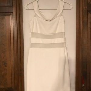 Bachelorette white off the shoulder dress!